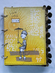 Art Journal Page: Hot (assicrafts) Tags: artjournal stampotique