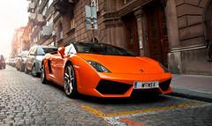Orange Invasion! (U-J Photography) Tags: road italian italia power serbia fast style ferrari racing spyder exotic turbo german belgrade gt carbon audi rims runner tuning supercar v8 exhaust gallardo f430 gtr supersport streetrace nurburgring topspeed lamburghini lp560 aventador