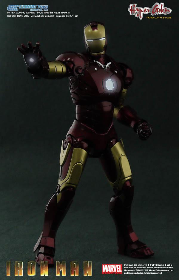 EZHOBI TOYS - HYPER GOKIN 極合金 系列 鋼鐵人 MK3
