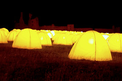 peace camp (Ray Byrne) Tags: camp castle night poetry peace northumberland northeast peacecamp dunstanburgh dunstanburghcastle raybyrne byrneoutcouk webnorthcouk