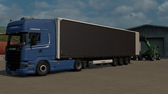 Loading (DaveyY PhotoS) Tags: scania topline r450 streamline loading ets2 promods euro truck simulator 2 euro6 krone agrovector super ldtransport