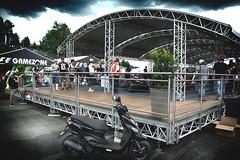 FAN-Zone (camerito) Tags: tent formula1 formel1 2016 spielberg redbull ring circuit race track austria sterreich styria steiermark camerit nikon1 j4 flickr scooter motorroller zelt fanzone