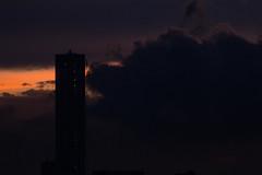 Dark Clouds (dudemau5) Tags: clouds sky skies red dark gloomy storm jersey nj