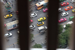 Traffic, as usual (asitrac) Tags: street scene bangkok krungthep thailand siam  southeastasia asia travel th eo
