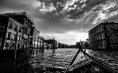 Gondola trip (ArtinArt) Tags: venice italy love city water canals houses sticks