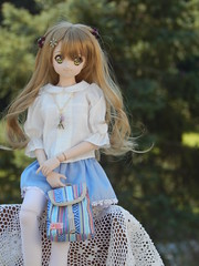 Pretty In Blue (Forest_Daughter) Tags: volks dollfie dream sister doll mayu