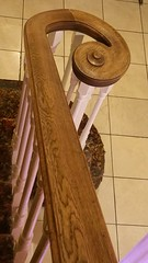 Bannister (danieljsf) Tags: eros stairs banister bannister curl curve rail railing wood wooden