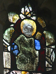 bearded saint with a book (Simon_K) Tags: wiggenhall mary magdalene magdalen norfolk eastanglia