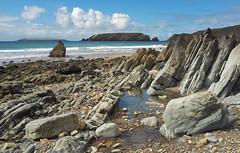 Marloes Sands (tinymei) Tags: pembrokeshirecoastnationalpark marloessands sea wal west gateholmisland beach landscape