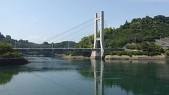 5th and 6th Tobishima bridges (Stop carbon pollution) Tags: japan  honshuu  hiroshimaken   tobishimakaidou