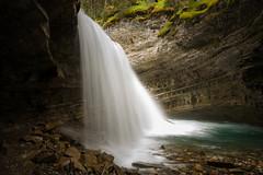 Johnston Canyon Waterfall (acreativename) Tags: longexposure banffnationalpark johnstoncanyon nikon d610 tamron1530 alberta canada