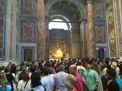 St. Peter's Basilica 2016 (sctcroft) Tags: rome italy 2016 piet peters saint statue people