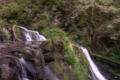 Wasserfall Rötenbachschlucht 1/2