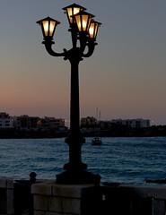 Otranto light (ricciatop) Tags: otranto luci lampione lungomare salento canon eos760d