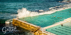 Bondi Rock Pool (Grant Wolz) Tags: beach ocean sydney bondibeach pool wave rockpool swiming