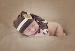 DSC_6031 (Claire Jaggers Photography) Tags: newborn baby infant boy babyboy nest teddybear hat indoor sidelight nikond700 nikon80200mm