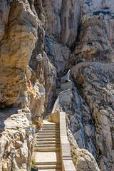Sta(i)rway to heaven (/Paola/) Tags: nikon nikkor d3100 18105vr sardegna sardinia stairs scale roccia grottadinettuno alghero capocaccia summer eatate scogli