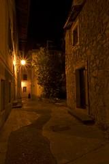 Alleyway (maxsaiko) Tags: nikon d7100 croatia night light street alleyway city old