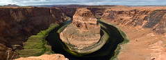Horseshoe Bend Panorama (Inanimate Carbon Rod) Tags: canon 70d horsehoe bend panorama az arizona page colorado river