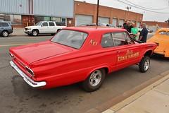 Gassers 3 at the Automobile Driving Museum (USautos98) Tags: 1965 dodge dart gasser hotrod streetrod custom