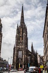 cafe hub (aprilpix) Tags: scotlandroyalmile edinburgh streetscene architecture aprilpix church
