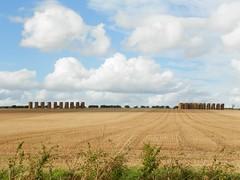 Stacks (Martha-Ann48) Tags: village fields wintringham north yorkshire view stubble straw bales stack rectangular