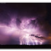 Static Stampede!   Incredible Late Evening Lightning Associated With Stationary Thunderstorms   Ashmore, IL