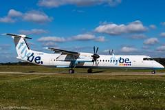 flybe G-ECOO (U. Heinze) Tags: aircraft airlines airways haj hannoverlangenhagenairporthaj eddv planespotting nikon d610 nikon28300mm