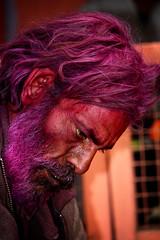 l'ossessione (mat56.) Tags: ritratto portrait portraits ritratti ossessione uomo man persone people obsession viola colore color violet profilo profile viso face rajasthan india asia antonio romei mat56 ratto molto bello