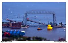 Big Rubber Duck (gardnerphotos.com) Tags: bigrubberduck worldslargestrubberduck gardnerphotoscom lakesuperior duluth minnesota duluthaerialliftbridge greatlakes