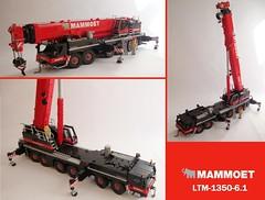 Liebherr LTM 1350-6.1 (2) ([Maks]) Tags: lego moc crane liebherr ltm mobile all terrain model team miniland mammoet 135061 ltm1350 1350