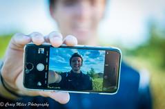 """Be yourself. Unapologetically."" (MrPessimist) Tags: nikon d300s nikond300s portrait iphone selfie 50mm outdoor male teenager maleteenager seniorportrait seniorphoto highschoolsenior highschool avilablelight"