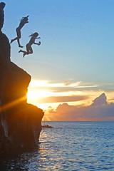 cliff jump 20 by 30 (mikemartin1967) Tags: sydney mackenzie sonycamera waimeabay