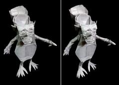 ORIGAMI - BRAINLESS ! (V.1) (Neelesh K) Tags: origami brainless version 1 fail k neelesh boxpleating 32 grids