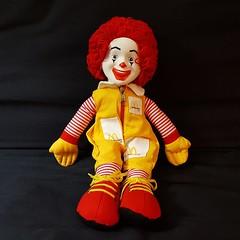 Ronald McDonald (Rockin' KE) Tags: clowns fastfood instagram items mcdonalds ronaldmcdonald toys