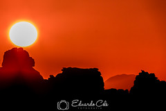 EL TORCAL Y SU CABRA MONTES (Eduardocele) Tags: eltorcaldeantequera montaa nocturnas paisajes puestasdesol torcaldeantequera
