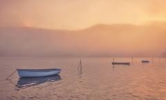 Lake of Tranquility (Captain Nikon) Tags: llynpadarn snowdonia lake boats llanberis atmospheric tranquil tranquillity moody serenity serene northwales wales nikond7000 sigma1020mmf4 srbgraduated06softgradfilter