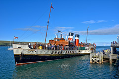 Paddle Steamer Waverley at Swanage (tsbl2000) Tags: pswaverley paddlesteamer swanage pier englishchannel southcoast steamer seascape seaside