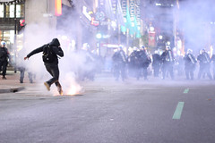 Ostie de Grosse Manif de Soir (The Link Newspaper) Tags: students march riot quebec montreal rally strike greve classe spvm policebrutality studentmovement pepperspray downtownmontreal ggi manifencours