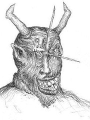 MescalineDemon_small (LouisBraquet) Tags: original art pen ink sketch drawing originalart surrealism dream surreal fantasy surrealist dreamlike mythology unconscious penandink jungian freudian hallucinogenic psychoanalysis fantasticrealism subconscious psychoanalytical mythologicalart modernsurrealism modernsurrealist unconsciousimagery