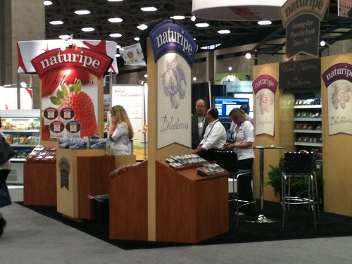 On the United Fresh 2012 trade show floor