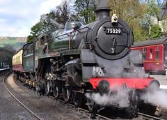 Light Load (Feversham Media) Tags: yorkshire northyorkmoors northyorkshire nymr northyorkshiremoorsrailway steamlocomotives northyorkmoorsnationalpark preservedrailways heritagerailways thegreenknight brstandardclass4mt