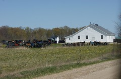 2012-04-22_Sunday Meeting House (Mark Burr) Tags: meetinghouse mennonite horseandbuggy brucecounty oldordermennonite huronkinloss