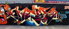 THE JUICE IS LOOSE (ALL CHROME) Tags: nyc urban newyork love canon graffiti boobs explorer explore drugs spraypaint obama cocaine rath kemer kem dabs myla poortaste 123klan sye wane nomdeguerre ironlak allchrome kem5 kems kemr justinbieber