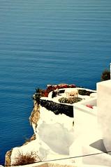 I look you dreaming.... (l*aura**) Tags: blue island blu santorini greece grecia oia isola saariysqualitypictures percepitons