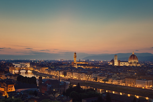 Fireflies in Florence