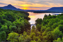 Borestone Mountain & Lake Onawa (Greg from Maine) Tags: sunset landscape maine viaduct onawa willimantic borestone piscataquis borestonemountain piscataquiscounty onawalake shippondstream willimanticmaine elliottsville elliottsvillemaine lakeonawa