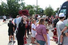 South Carolina Gamecocks Baseball Team (columbiasc) Tags: baseball southcarolina columbia sendoff gamecock gamecocks cws carolinastadium
