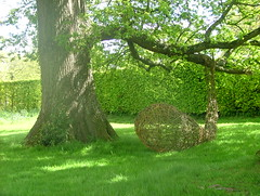 Seed Pod (Mark and Rebecca Ford Art Sculpture) Tags: uk flowers sculpture green art love floral festival architecture river landscape photography countryside photo pod gallery nest westsussex surrealism wildlife environmental screen structure tendril climbing growth galleries willow gourd installation land surrealist form woven climber carpark festivities weaving foundobject weave landart ambiguous chichester testicle ecoart wovenwillow lavant greenart chichesterfestivities apendage plantform countrycrafts wovenart bignorpark housenature rebeccaford meditativespaces wovensculpture chichesterarttrail oraginicform twocirclesdesign arterialcytoplast may2012oxdomebignor floralfringefair fringefair riverhopeproject