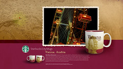 Starbucks City Mug Vienna Desktop Wallpaper (Magic Ketchup) Tags: vienna wallpaper austria starbucks mug citymugs 2008series